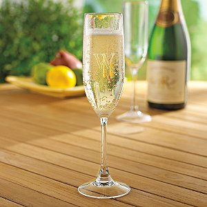 Personalized Indoor/Outdoor Champagne Flutes (Set of 4)