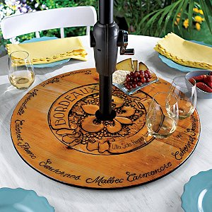 Bordeaux Indoor and Outdoor Lazy Susan