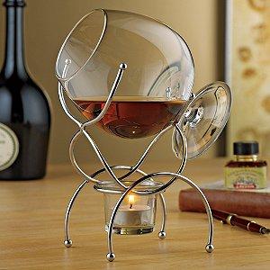 Brandy Warmer 4-Piece Gift Set