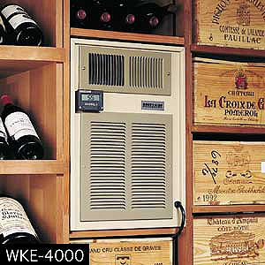 Breezaire WKE-3000 Wine Cellar Cooling Unit (Max Room