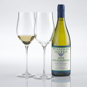 Fusion Triumph Chardonnay/White Burgundy Wine Glasses (Set of