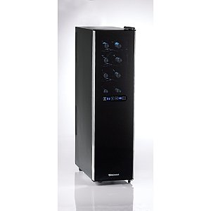 Wine Enthusiast Silent 18 Bottle Dual Zone Touchscreen