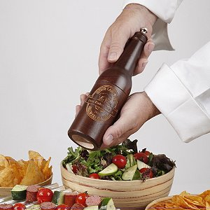 Personalized Beer Bottle Pepper Mill