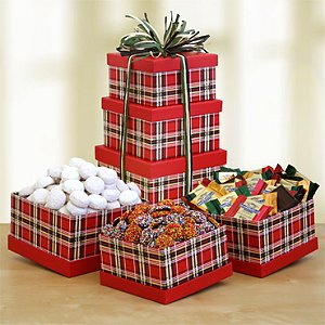 Tartan Tower of Treats