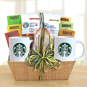 Starbucks Cocoa & Coffee Gift Basket