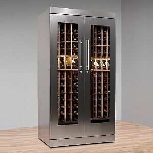 Vinotheque AlumaSteel 300 Wine Cabinet with N'FINITY Cooling