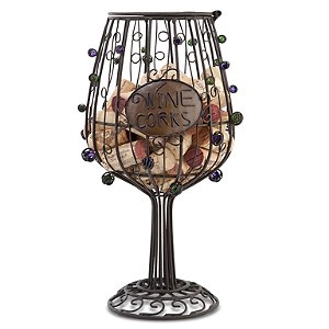 Wine Glass Cork Cage