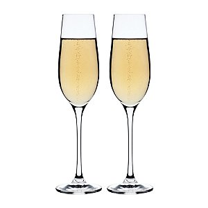 Maxwell and Williams Bubbles Galore Flutes (Set of