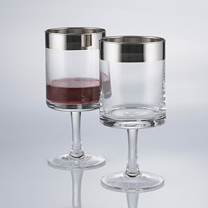Madison Avenue Short Stem Wine Glasses (Set of