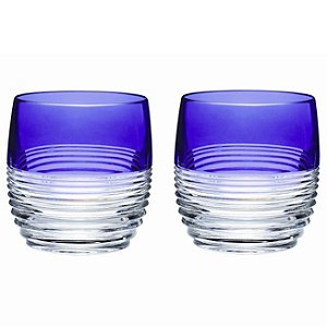 Waterford Mixology Circon Purple Double Old Fashioned (Set