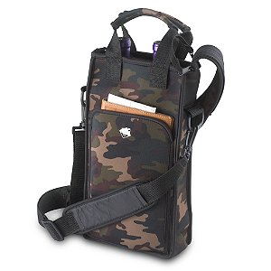 2 Bottle Neoprene Wine Tote Bag (Camo Print)