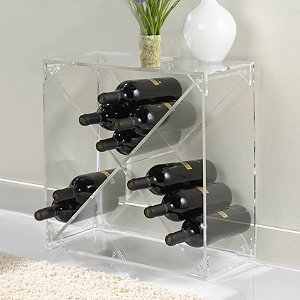 24 Bottle Acrylic Wine Cube
