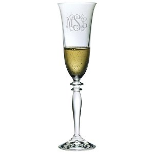 Personalized 6 oz Harmony Champagne Flutes (Set of