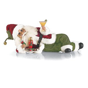 Karen Didion Martini and Cookies Santa
