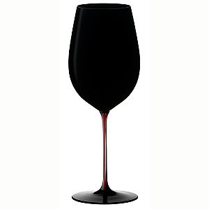 Riedel Sommeliers Bordeaux Grand Cru Black/Red/Black - Black