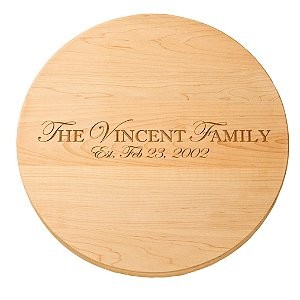 Personalized Maple Lazy Susan (16 inches)