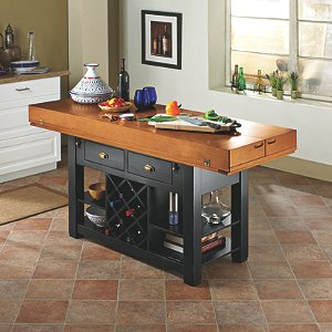 Two Tone Italian Kitchen Island/Table