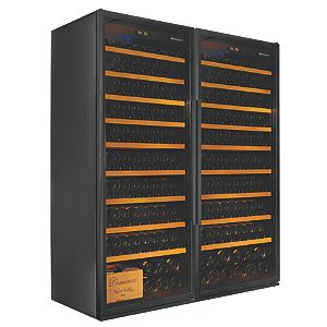 Wine Enthusiast Classic XL Double Wine Cellar
