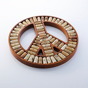 Peace Sign Wine Cork Kit