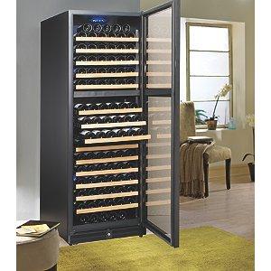 Wine Enthusiast 170 Bottle Dual Zone Wine Cellar