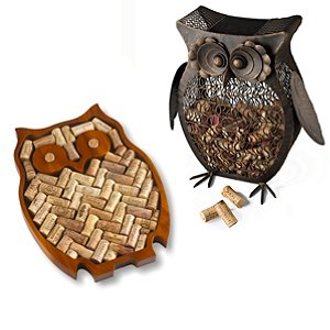 Owl Lovers Wine Cork Kit & Catcher Set