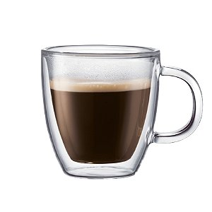 Bodum Double Wall Coffee Mug (Set of 4)