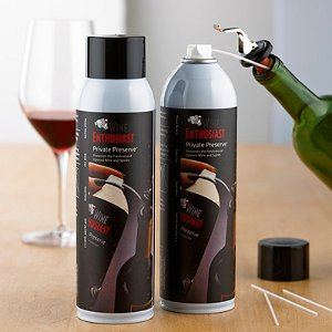 Wine Enthusiast Private Preserve Wine Preservation Spray (Set