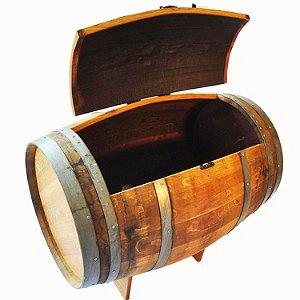 Reclaimed Wine Barrel Ice Chest