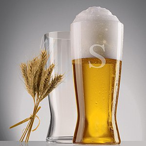 Personalized Spiegelau Beer Classics Lager Glasses (Set of