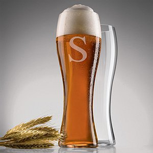 Personalized Spiegelau Beer Classics Wheat Glasses (Set of