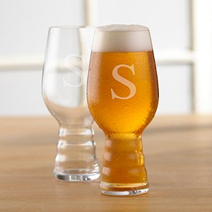 Personalized Spiegelau IPA Craft Beer Glasses (Set of