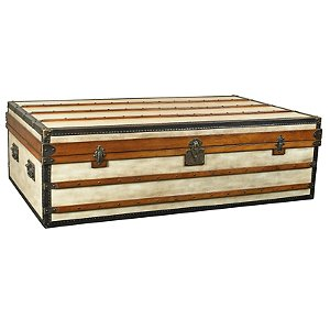 Polo Club Coffee Table Trunk (Ivory)