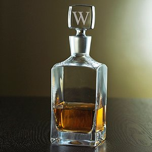 Personalized Metropolitan Whiskey Decanter (Personalized Stopper)