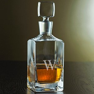Personalized Metropolitan Whiskey Decanter (Personalized Base)