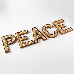 PEACE Wine Cork Kit
