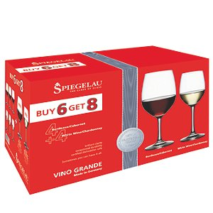 Spiegelau Buy 6 Get 8 Vino Grande Bordeaux