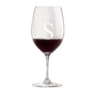 Personalized Riedel Vinum Cabernet/Merlot/Bordeaux Wine Glasses