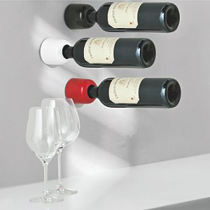 Wine Cell Wall Mounted Wine Bottle Holders Black