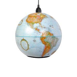 World Globe Pendant Light Classic (Medium)