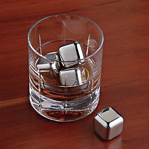 SoHo Bar Glasses and SPARQ Stainless Steel Whiskey
