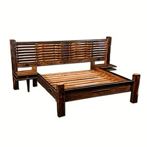 Barrel Stave King Sized Bed