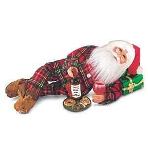 Karen Didion Midnight Snack Santa