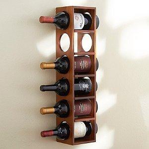 6 Bottle Wine Rack (Walnut)