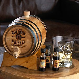 Personalized Barrel Whiskey Bootleg Kit