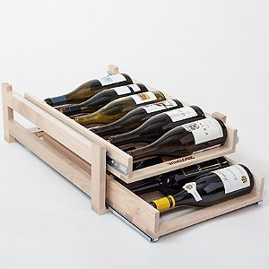 Wine Logic 12 Bottle In-Cabinet Wine Rack