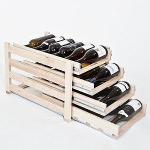 Wine Logic 24 Bottle In-Cabinet Wine Rack