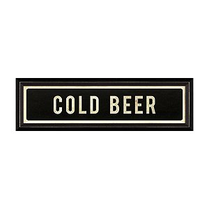 Cold Beer Street Sign