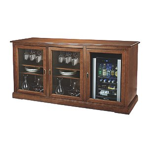 Siena Triple Wine Credenza with Evolution Series Beverage