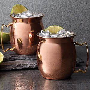 Copper Moscow Mule Mug 16 oz (Set of
