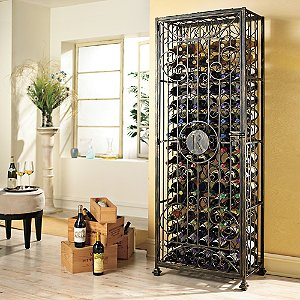 Personalized Antiqued Steel Wine Jail Left Hinge (Initial
